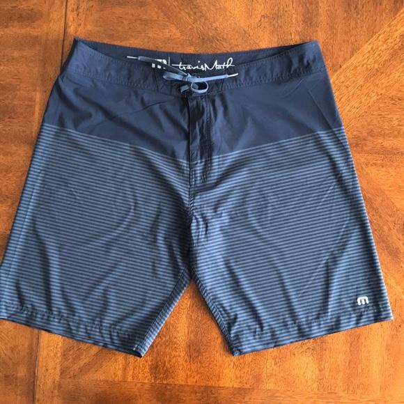 55d780f08f Travis Mathew Swim | Colinas Regular Fit Board Shorts 38 | Poshmark